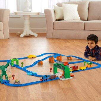 Harga Thomas & Friends™ Motorized Railway Day at the Docks Deluxe Set