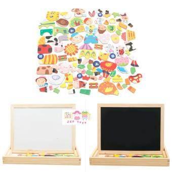 Todds & Kids Toys ของเล่นไม้เสริมพัฒนาการ ชุดกระดานเเม่เหล็กเเละกระดานดำชุด Happy Farm - 3