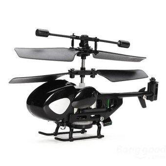 โดรนบังคับ เครื่องบินบังคับ Mini Helicopter 3.5 CH Built-inGyro (สีดำ)