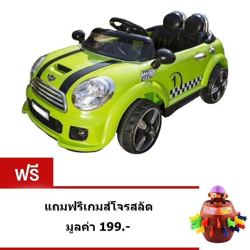 Uniรถแบตเตอรี่ รถไฟฟ้าเด็ก รถแข่งเด็กMiniสำหรับเด็กนั่ง2มอเตอร์(สีเขียว)รถแบตเตอรี่ รถไฟฟ้าเด็ก รถแข่งเด็กMiniสำหรับเด็กนั่ง2มอเตอร์(สีเขียว)