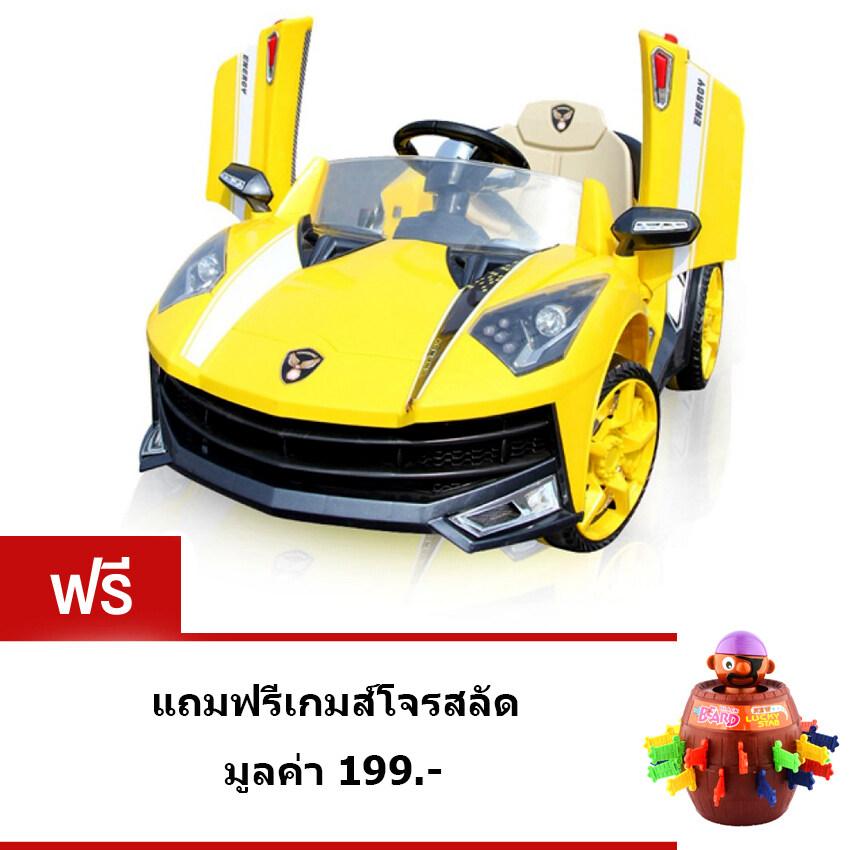 Uni รถแบตเตอรี่ รถไฟฟ้าเด็ก รถแข่งเด็ก Sport – สีเหลือง