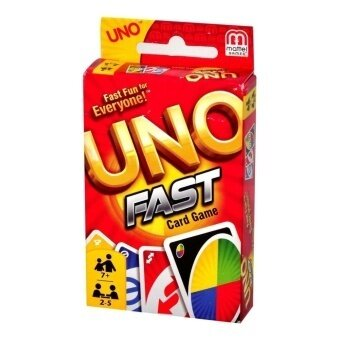 Uno Fast Card Game - intl