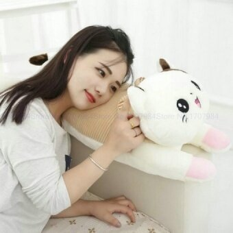 wholesale Cute Cat pillow Plush Toys Sleep Cushion Pig Cloth doll Christmas present stuffed plush 70*23CM - intl