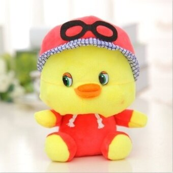 Wow! Fashion Duck with Faddish Cap and 20CM Length Plush Toy for Kids Gifts Factory Price SY115B - intl