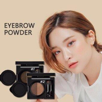 อยากขาย ☆01☆ คูชชั่นสำหรับคิ้ว เนรมิตคิ้วให้สวยดูมีมิติ Novo EyebrowCushion Cara 6g.