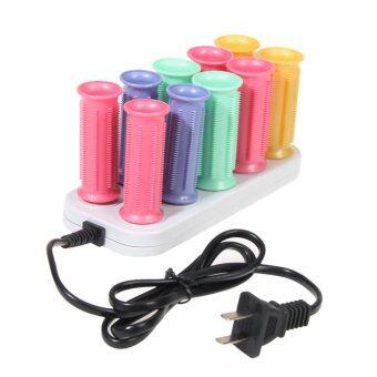 ราคา 10-In-1 Electronic Thermostat Curler (US Plug)