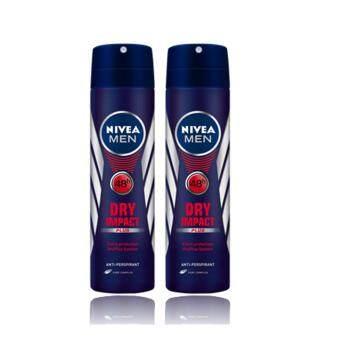 ประกาศขาย นีเวีย ดีโอ เมน ดราย อิมเเพ็ค สเปรย์ (150 มล.) แพ็ค 2 NDM Dryimpact spray 150 ml Pack 2