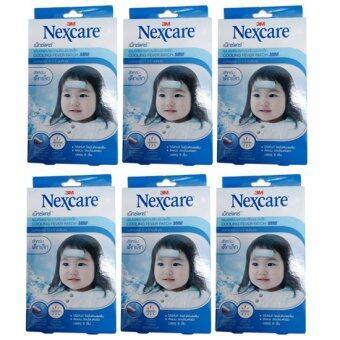 รีวิว 3M Nexcare Cooling Fever Patch Mini แผ่นเจลลดไข้ สำหรับเด็กเล็ก 6แผ่น/กล่อง (6 กล่อง)