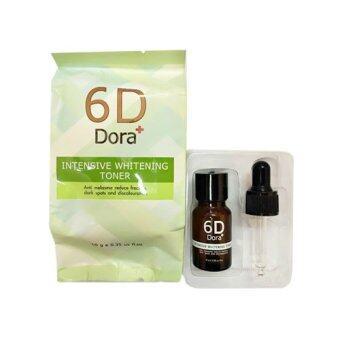 6D Dora+ Intensive Whitening Toner 10 ml.
