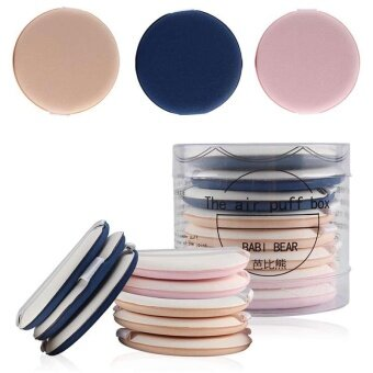 8Pcs Cream Concealer Applicator Air Cushion Round Makeup SpongePowder Puff - intl