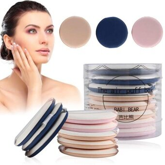 8Pcs Soft Foundation Sponge Flawless Cream Air Cushion Puff Blending Powder Puff - intl