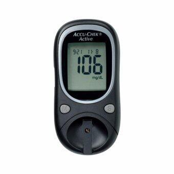 เครื่องตรวจวัดน้ำตาลในเลือด Accu-Chek Active