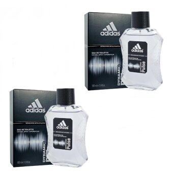Adidas Dynamic Pulse Cologne for Men 100 ml .( 2กล่อง)