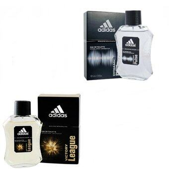 Adidas Victory League For men 100ml. +Adidas Dynamic Pulse Cologne for Men 100 mlพร้อมกล่อง