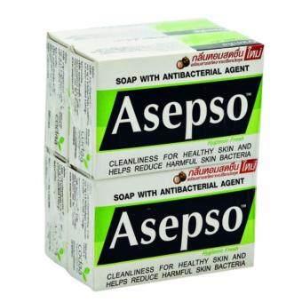 อยากขาย ASEPSO อาเซบโซ จินิคเฟรซ 80ก 4 ก้อน