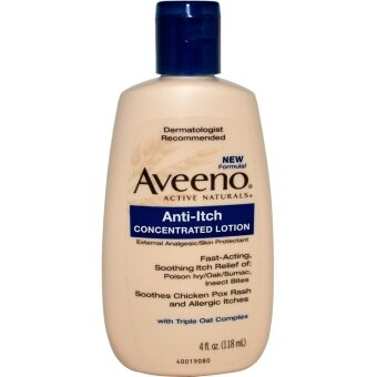 Harga ครีมลดอาการคัน Aveeno Active Naturals Anti-Itch Concentrated Lotion (118 ml)