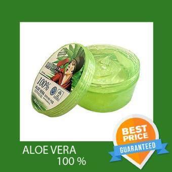 Beauskin Aloe Vera Soothing Gel 100% บิวสกิน อโลเวร่า ชูททิ่ง เจล 100% 1 กระปุก (300 กรัม/กระปุก)