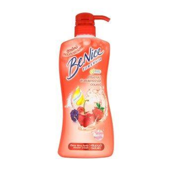 BENICE บีไนซ์ ครีมอาบน้ำเบอร์รี่พลัส 450มล.สีแดง ...