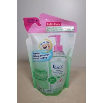 Biore Perfect Cleansing Water 250 ml. #Acne Care (Refill)