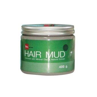 อยากขาย BSC Hair Mud Enriched with Mineral Clay & Natural Extract ( 400 g. )บีเอสซี แฮร์ มัด( 400กรัม)