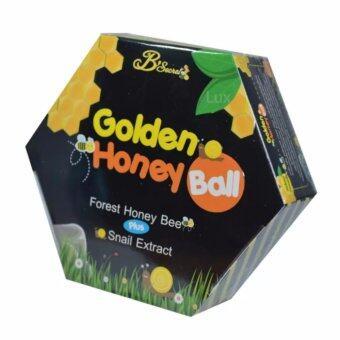จัดโปรโมชั่น B'Secret Golden Honey Ball มาส์กลูกผึ้ง บี ซีเคร็ท กลิ้งแล้วหนืดยืดแล้วมาส์ก เพื่อผิวสะอาดเนียนใส ชุ่มชื้น บรรจุกล่องละ 4 ลูก (1กล่อง)