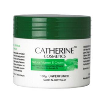 Catherine ครีมวิตามินอี สูตร Natural จากธรรมชาติ100% (100ml.)