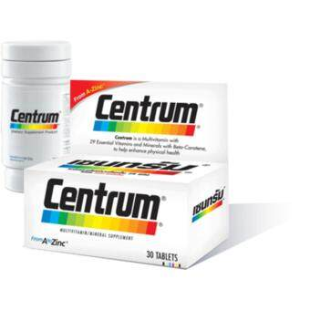 Harga Centrum from A to Zinc – multivitamins and mineral supplement ( 30 capsules)