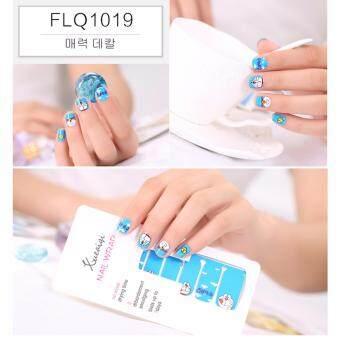 CHANEE Korean Nail Art Sticker สติกเกอร์ติดเล็บลอกลายจากเกาหลี - No.FLQ1019