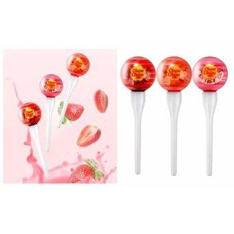 CHUPA CHUPS Lip Locker Strawberry&Cream #01 สีชมพู - 5