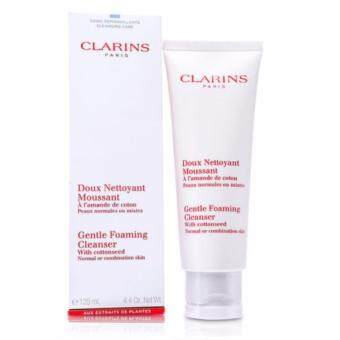 Clarins Gentle Foaming Cleanser with Cottonseed (Normal or Combination Skin) 125 ml