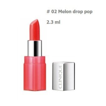 Harga CLINIQUE ลิปสติก Pop Lip Colour and Primer #02 melon drop Pop 2.3ml