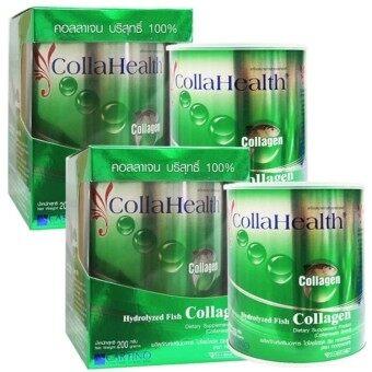 CollaHealth Collagen คอลลาเจนบริสุทธิ์ 200 g. (2 กล่อง)