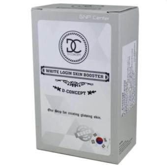 D-Concept White login Skin booster บูสเตอร์รกม้า นำเข้าจากเกาหลี 1 กล่อง (12 ซอง/กล่อง)