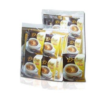 D-CUP COFFEE กาแฟสำเร็จรูปควบคุมน้ำหนัก ผสมคอลลาเจนและแอล-คาร์นิทีน(2 แพ็ค แพ็คละ 24 ซอง)