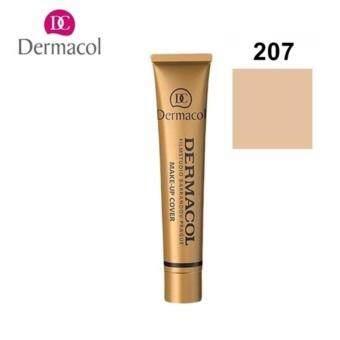 Dermacol make-up coverSPF30 ครีมรองพื้น เดอร์มาคอล ปกปิดริ้วรอย เบอร์207