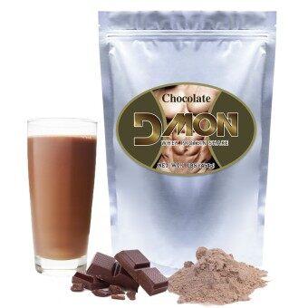 Dmon Whey Protein Concentrate Chocolate 1 Lb (เวย์โปรตีน คอนเซนเทรต ช็อกโกแลต 1 ปอนด์)
