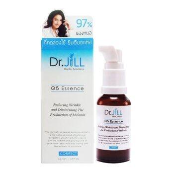 DR.JILL G5 ESSENCE ด๊อกเตอร์จิล จี 5 เอสเซ้นส์ 30ml. (สินค้าเปลี่ยนแพ็คเกจเป็นมาริโอ้)