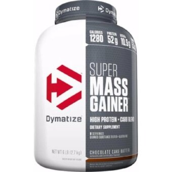 Harga DYMATIZE NUTRITION SUPER MASS GAINER Rich Chocolate 6LB
