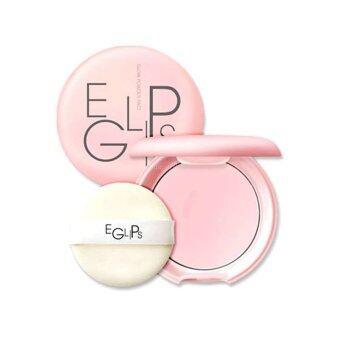 Eglips Glow Powder Pact 8g 1 ตลับ แป้งพัฟสูตรปรับสภาพผิวให้เปล่งประกายสดใสเนื้อแป้งบางเบาสบายผิว ดูโกลว์และวิ๊งราวกับมีออร่า
