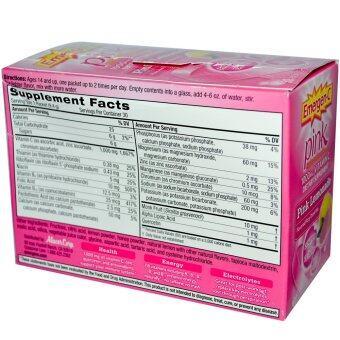 Emergen-C, Pink, 1,000 mg Vitamin C, Pink Lemonade, 30 Packets - 2