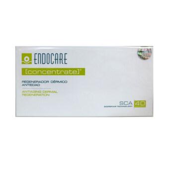 Endocare Concentrate serum SCA40 เซรั่มหอยทากเข้มข้นรักษาสิว 1 กล่อง (7หลอด x 1ml.)