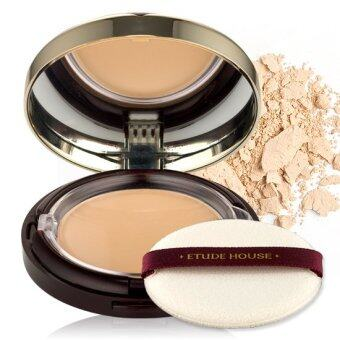 Etude House แป้งพัฟผสมรองพื้น Total Age Effective Two Way CakeSPF48/PA++12 g #02 Natural Beige