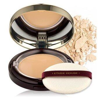 Etude House Total Age Repair Effect Two Way Pact #01 light beige ผิวขาว