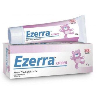 Ezerra Cream ครีมทาผิวอักเสบ สำหรับผิวแพ้ง่าย ผดผื่น ผื่นแพ้ 50 g