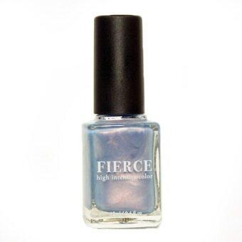 Fierce nail polish ยาทาเล็บ FB06 Mental ability - สีฟ้าเทาเหลือบมุก