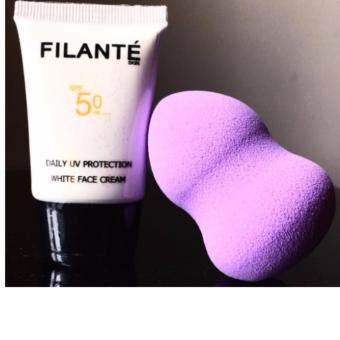 ครีมกันแดดFILANT? SKIN: DAILY UV PROTECTION WHITE FACE CREAM 20ML.SPF50 (PA++++)พร้อมเผชิญแสงแดดในทุกวัน (เหมาะกับทุกสภาพผิว)