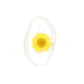 Flower Silicone Sunflower Face Cosmetic Makeup Tool Powder Puff BB Cream - intl