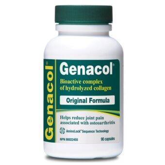 Genacol เจนาคอล ผลิตภัณฑ์เสริมอาหาร คอลลาเจน AminoLock (90 แคปซูล)