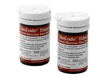 แผ่นตรวจน้ำตาล GlucoLeader รุ่น Enhance (ชนิดกระปุก)