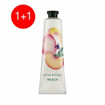 HAND & NATURE PEACH HAND CREAM 1+1